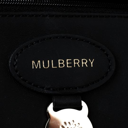 Mulberry Leather Unlined Tote in Black Image 6