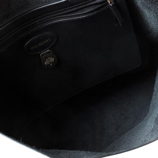 Mulberry Leather Unlined Tote in Black Image 7
