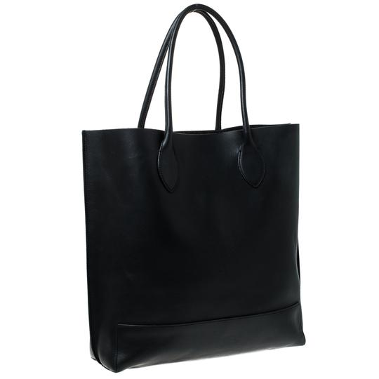 Mulberry Leather Unlined Tote in Black Image 8