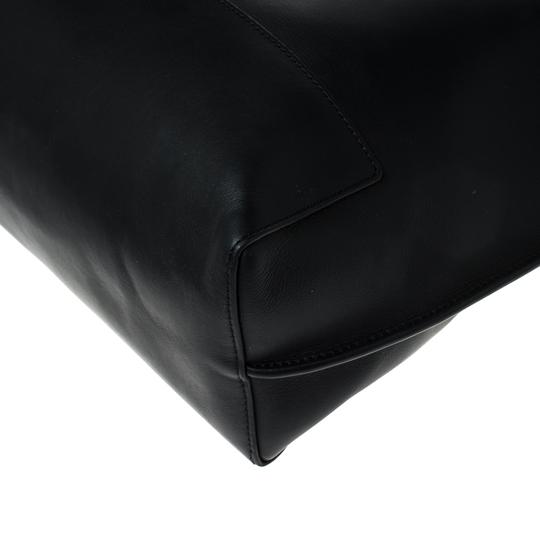 Mulberry Leather Unlined Tote in Black Image 9