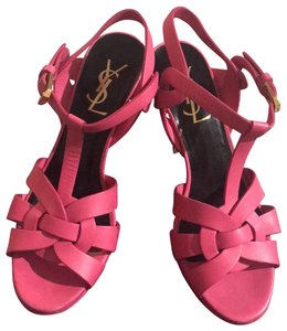 Saint Laurent fuchsia Platforms