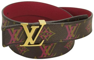 Louis Vuitton AUTH LOUIS VUITTON M9794 MONOGRAM LV BUCKLE CEINTURE BELT