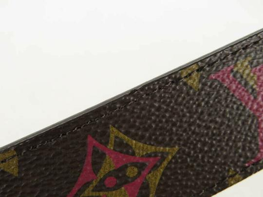 Louis Vuitton AUTH LOUIS VUITTON M9794 MONOGRAM LV BUCKLE CEINTURE BELT Image 3
