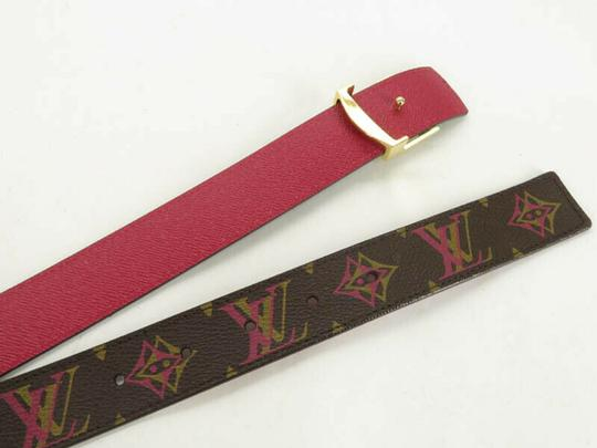 Louis Vuitton AUTH LOUIS VUITTON M9794 MONOGRAM LV BUCKLE CEINTURE BELT Image 5