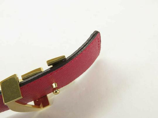 Louis Vuitton AUTH LOUIS VUITTON M9794 MONOGRAM LV BUCKLE CEINTURE BELT Image 6