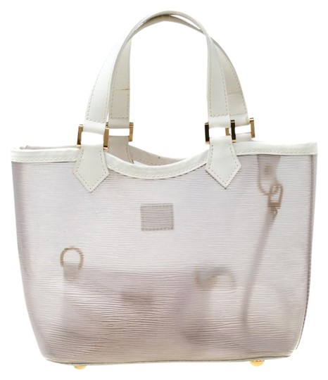 Preload https://img-static.tradesy.com/item/26116198/louis-vuitton-lagoon-bay-plage-vinyl-epi-leather-mini-white-tote-0-1-540-540.jpg