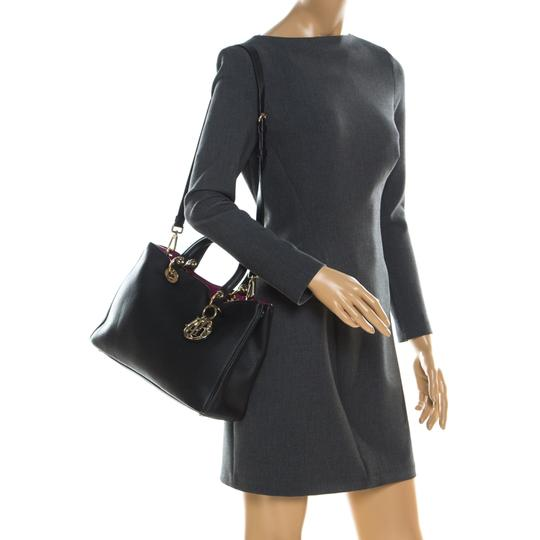 Dior Leather Tote in Black Image 1