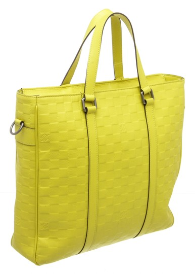 Louis Vuitton Tote in Neon Yellow Image 2