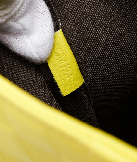 Louis Vuitton Tote in Neon Yellow Image 5