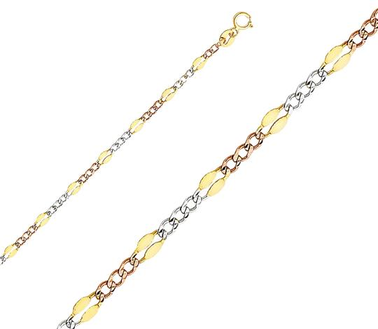 Preload https://img-static.tradesy.com/item/26116313/tri-color-14k-32-mm-stamped-figaro-31-chain-20-necklace-0-1-540-540.jpg