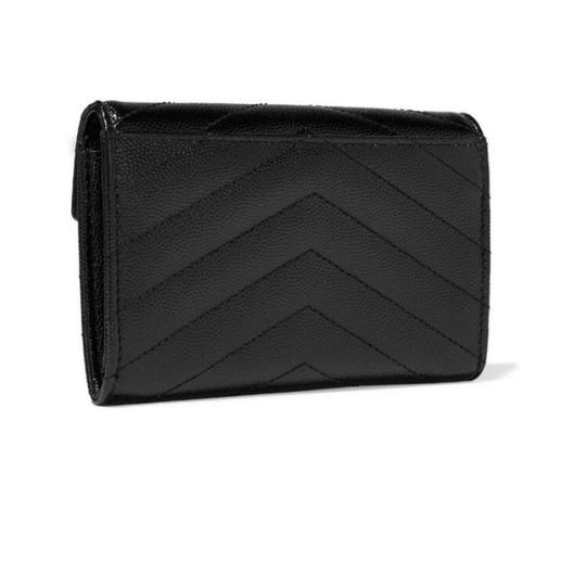 Saint Laurent monogram quilted leather small wallet Image 2