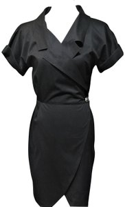 Genny Designer Vintage Wrap Versace Dress