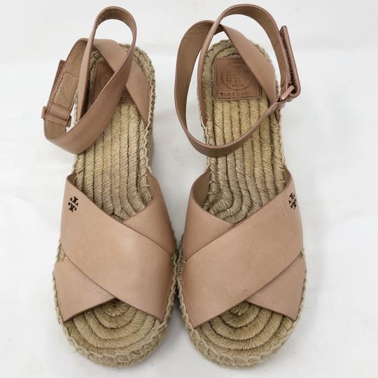 Tory Burch Golden natural Wedges Image 1