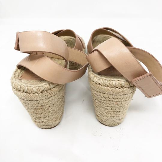 Tory Burch Golden natural Wedges Image 3