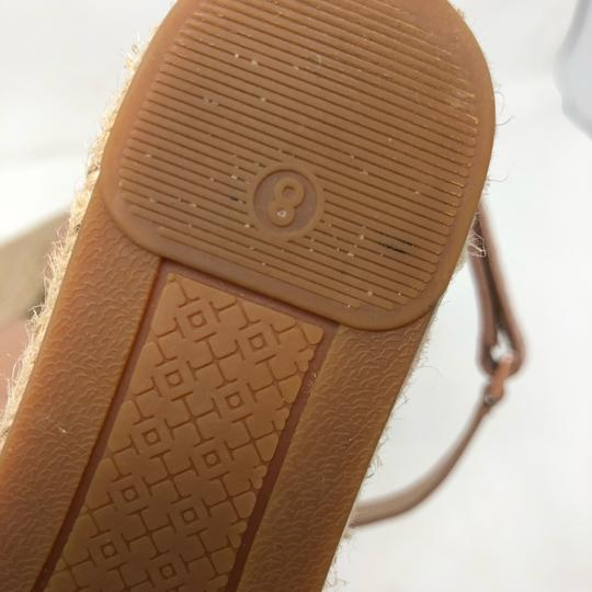 Tory Burch Golden natural Wedges Image 7