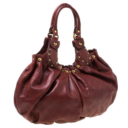 Gucci Leather Studded Hobo Bag Image 2