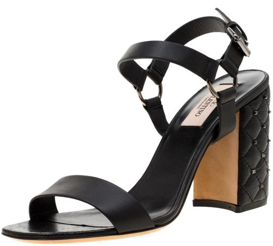 Valentino Leather Black Sandals Image 0