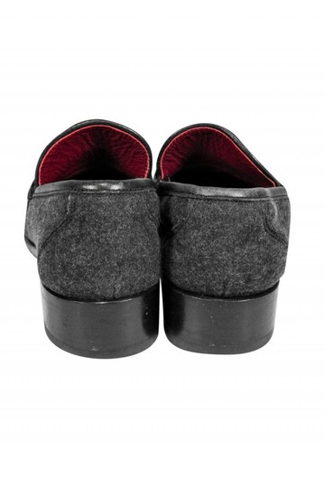 Ferragamo Loafers Gray Suede Loafer Pumps Image 3