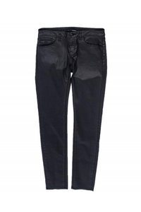 The Kooples Casual Matte Straight Pants black