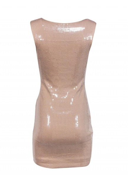 Robert Rodriguez Nude Sequin Dress Image 2