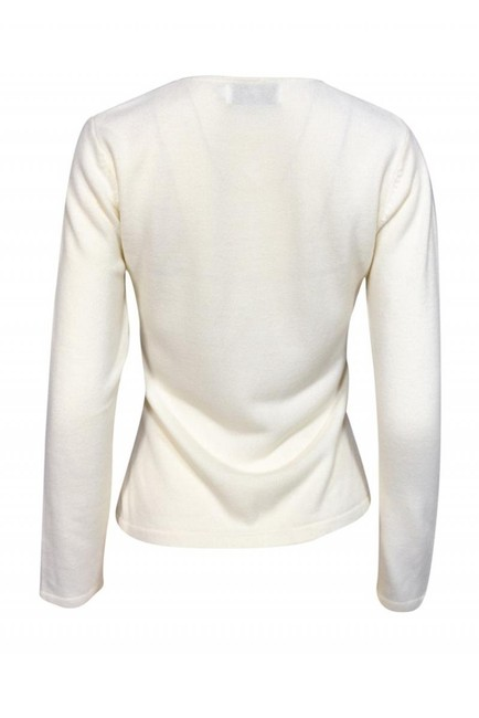 Burberry Jackets Ivory Knit Cardigan Image 2