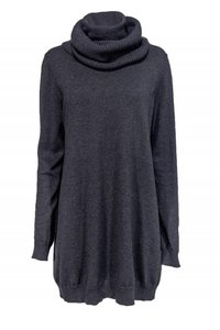 Theory Grey Cotton Cashmere Sweater