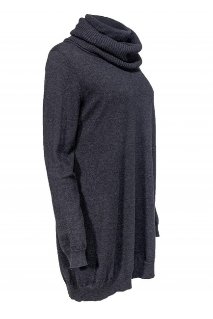 Theory Grey Cotton Cashmere Sweater Image 1