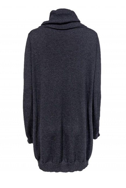 Theory Grey Cotton Cashmere Sweater Image 2