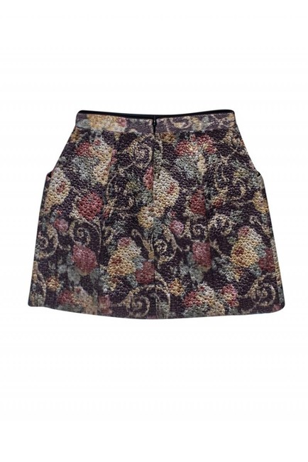 Club Monaco Quilted Textured Skirt Image 1