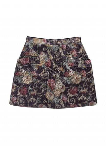 Club Monaco Quilted Textured Skirt Image 2