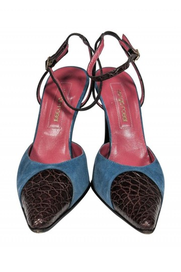 Sergio Rossi Anklestrap Anklewrap Dusty blue Pumps Image 1