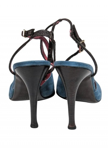 Sergio Rossi Anklestrap Anklewrap Dusty blue Pumps Image 3