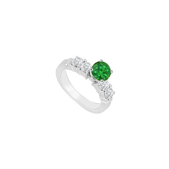 Preload https://img-static.tradesy.com/item/26116659/green-may-birthstone-created-emerald-cz-engagement-in-14kt-white-gold-ring-0-0-540-540.jpg
