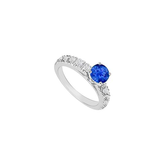 Preload https://img-static.tradesy.com/item/26116678/blue-created-sapphire-and-cubic-zirconia-engagement-ring-0-0-540-540.jpg
