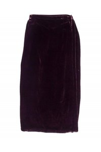 Eileen Fisher Wine Velvet Maxi Skirt