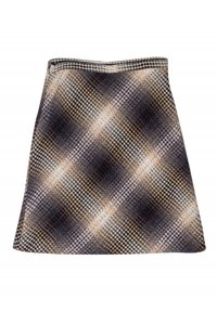 BCBG Max Azria Ombre Wool Skirt brown
