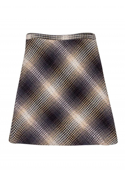 BCBG Max Azria Ombre Wool Skirt brown Image 1