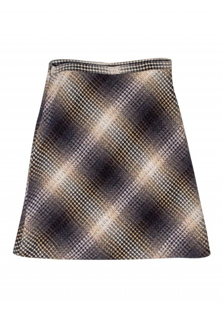 BCBG Max Azria Ombre Wool Skirt brown Image 2