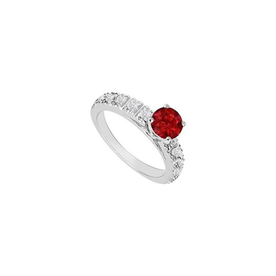 Preload https://img-static.tradesy.com/item/26116740/red-july-birthstones-rubies-and-cubic-zirconia-engagement-white-gold-ring-0-0-540-540.jpg