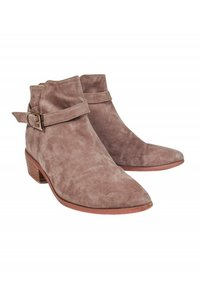 Barney's New York Taupe Suede Boots