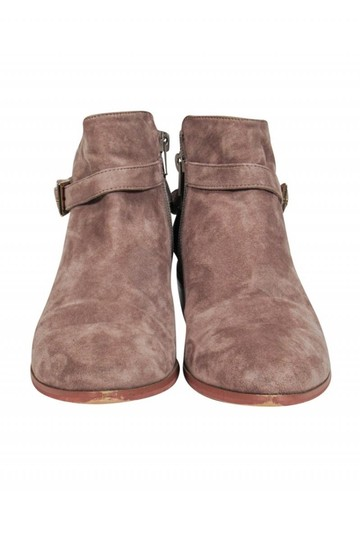 Barney's New York Taupe Suede Boots Image 1