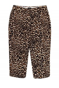 J. Crew Collection Casual Leopard Print Capri/Cropped Pants
