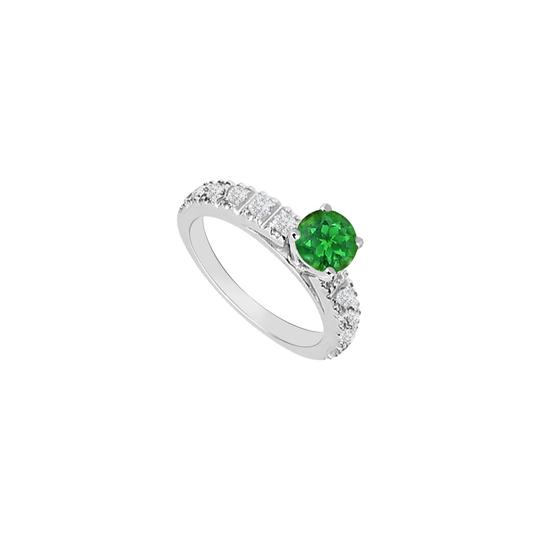 Preload https://img-static.tradesy.com/item/26116768/green-may-birthstone-created-emerald-and-cubic-zirconia-engagement-ring-0-0-540-540.jpg