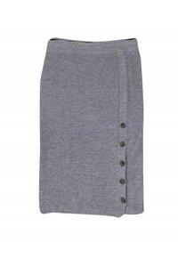 Club Monaco Skirts Gray Ribbed Sweater