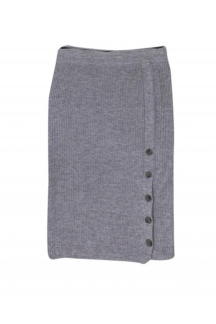 Club Monaco Skirts Gray Ribbed Sweater Image 0