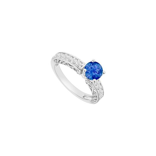 Preload https://img-static.tradesy.com/item/26116801/blue-created-sapphire-and-cubic-zirconia-filigree-engagement-ring-0-0-540-540.jpg