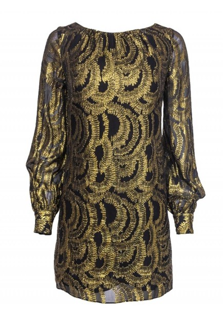 Preload https://img-static.tradesy.com/item/26116820/milly-gold-cocktail-dress-size-4-s-0-0-650-650.jpg