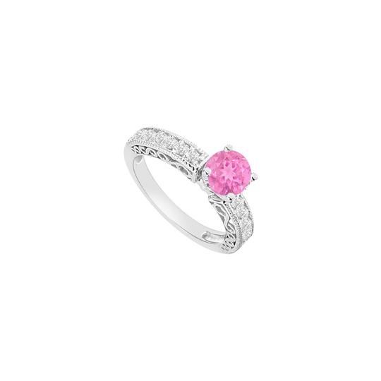 Preload https://img-static.tradesy.com/item/26116848/pink-created-sapphire-and-cubic-zirconia-filigree-engagement-ring-0-0-540-540.jpg