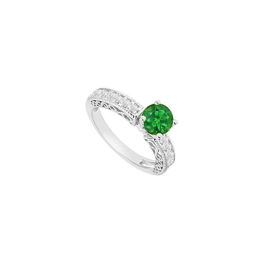 Preload https://img-static.tradesy.com/item/26116865/green-may-birthstone-created-emerald-cz-filigree-engagement-ring-0-0-540-540.jpg