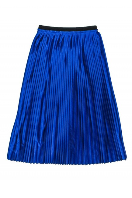 By Malene Birger Royal Pleated Skirt blue Image 1